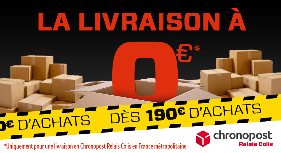 Livraison 0 euro