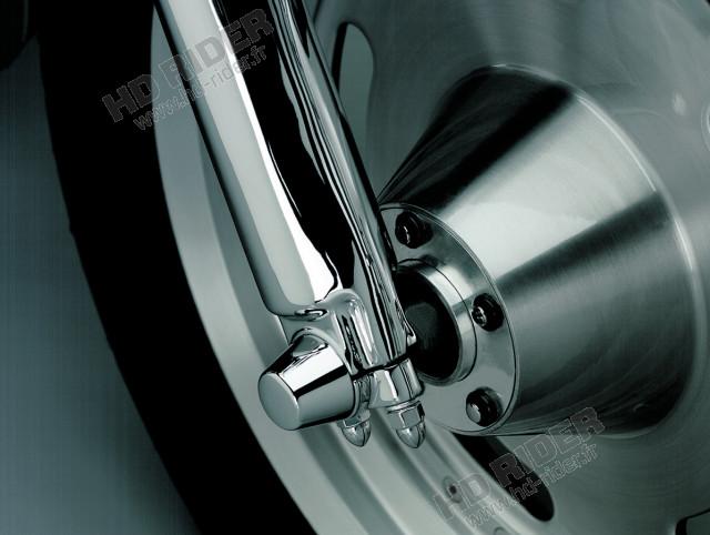 Caches axe de roue - Touring/Dyna