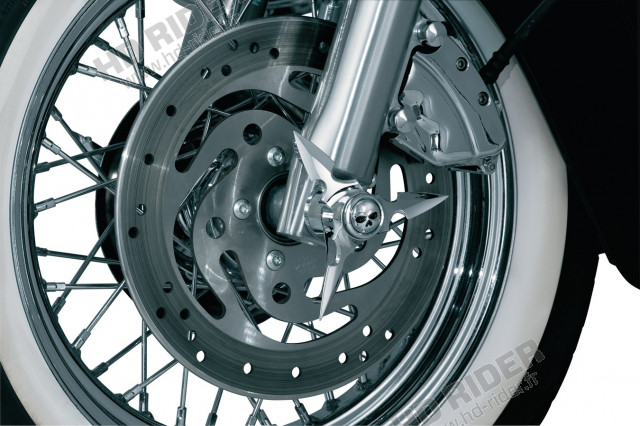 Caches axe de roue - Touring/Dyna/Softail/Sportster/V-Rod/Street