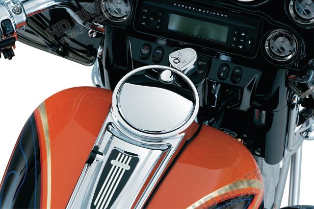 Bouton de trappe à essence - Touring/Tri Glide