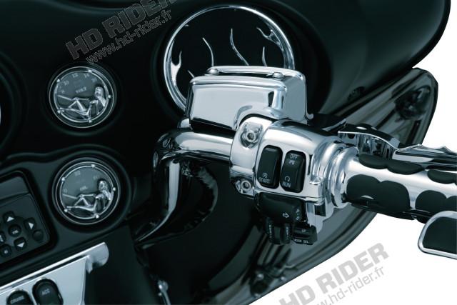 Enjoliveurs de réservoir de maitre cylindre de frein et d'embrayage - Touring/Trikes