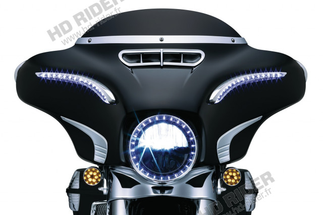 Feu à LED Phase 7 - Touring/Fat Boy/Dyna/Softail/Trikes