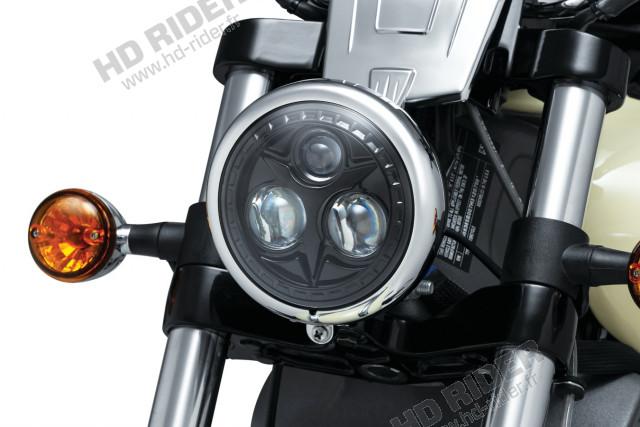 Feu à LED Orbit - Softail/Dyna/Sportster/V-Rod/Street