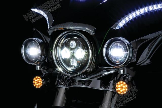 Feu à LED Orbit - Touring/Fat Boy/Dyna/Trikes