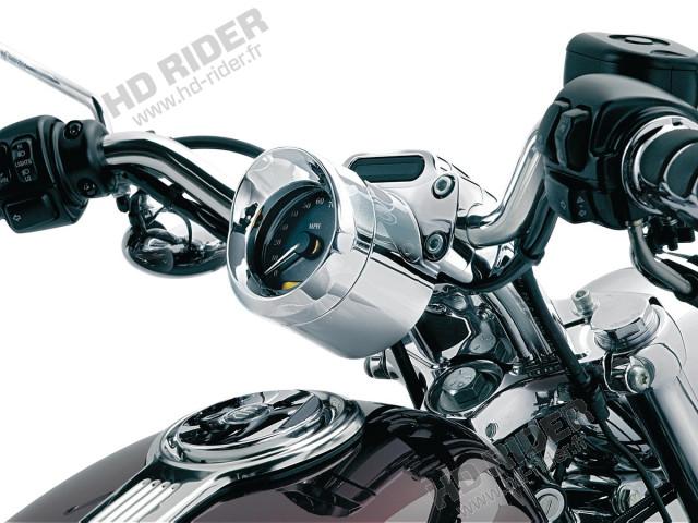Casquette de compteur de vitesse - Road Glide/Sportster
