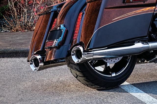 Silencieux Trident doux 4'' - Touring/Trike