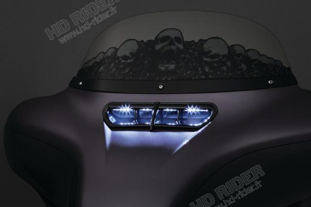 Chrome de ventilation lumineuse - Touring