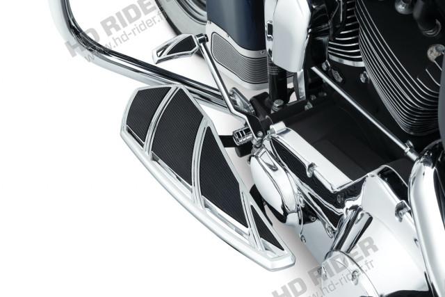 Cale-pieds pilote plateau Phantom - Touring/Trike/Softail/Dyna