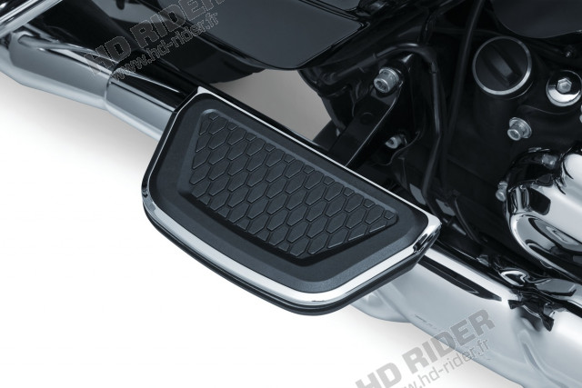 Insert cale-pieds passager Hex - Touring/Trike/Softail/Dyna