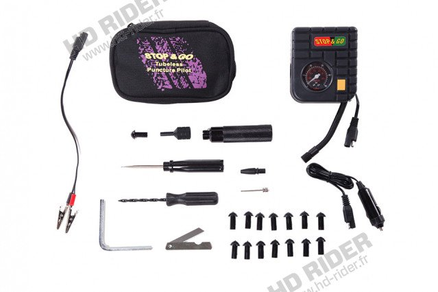 Kit de réparations avec pompe