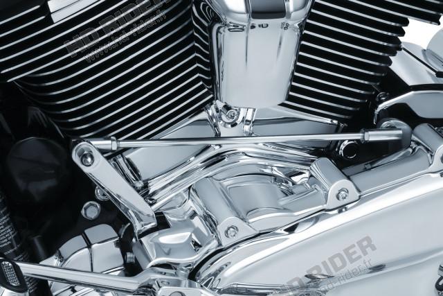 Chrome d'embase de cylindre - Touring