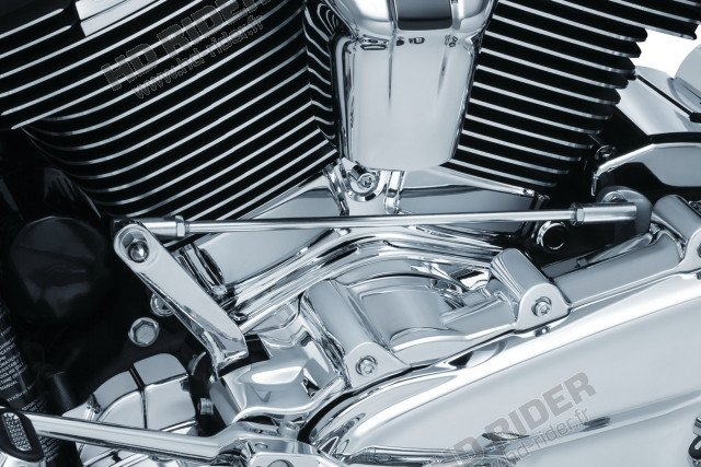 Chrome d'embase de cylindre - Softail