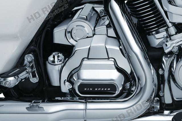 Chrome de boite de vitesse - Touring
