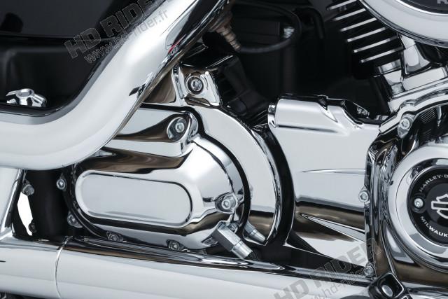 Chrome de boite de vitesse - Softail