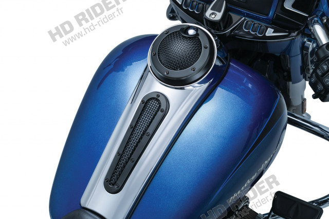 Insert console de réservoir - Street Glide / Road Glide