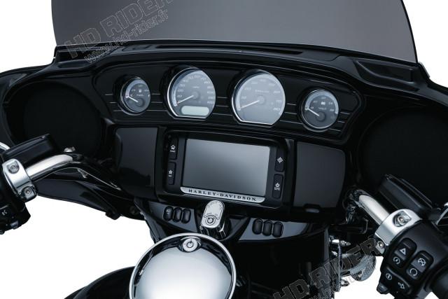 Couvre panel de contrôle noir - Touring