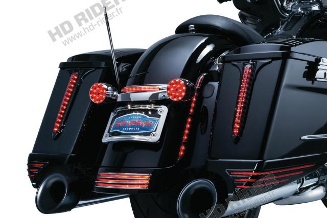Feux à leds additionnels de garde boue arrière - Touring/Softail
