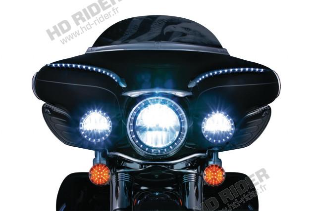 Cerclages de feux additionnels lumineux - Compatible avec tous les modèles de 83 et +