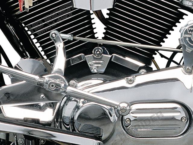 Chrome d'embase de cylindre - Evo Big Twins