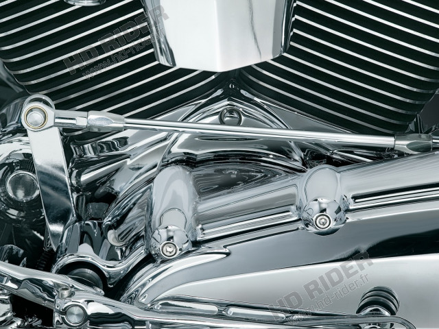 Chrome d'embase de cylindre - Touring/Dyna/Trike