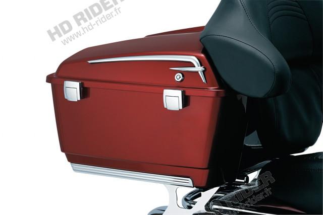 Chromes latéraux de couvercle de tour-pack - Touring/Trike