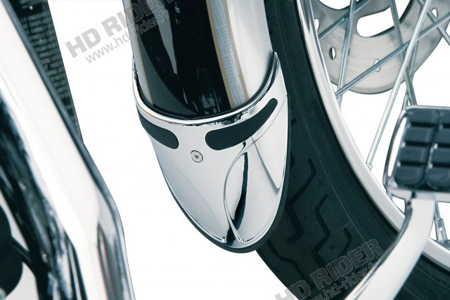 Bavette de garde boue avant - Softail/Sportster/Dyna/Super Glide