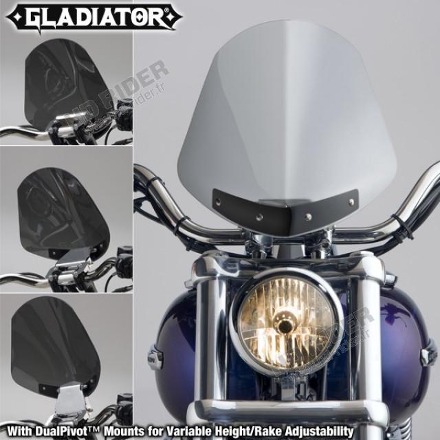 Pare-brise Gladiator - Dyna/Softail