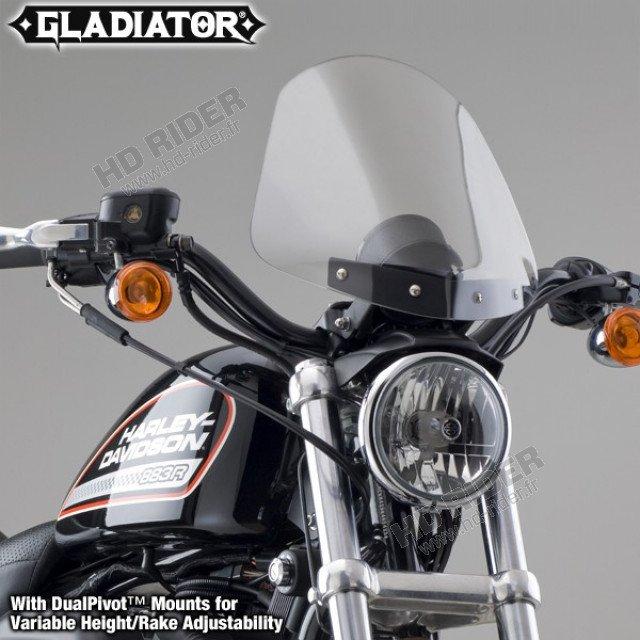 Pare-brise Gladiator - Sportster/Dyna