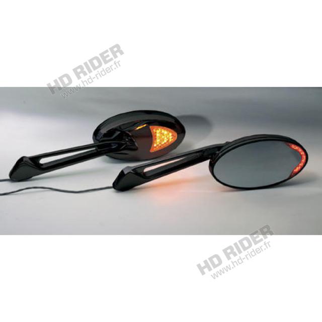 Rétroviseurs avec clignotants - Compatible avec tous les modèles