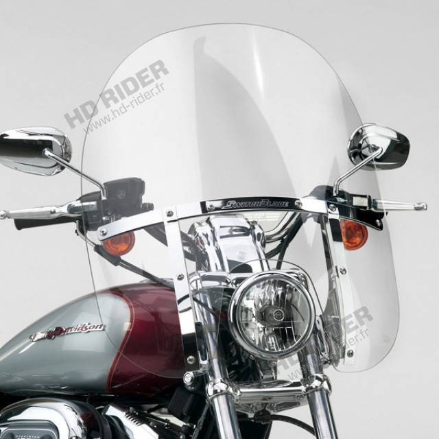 Pare-brise SwitchBlade 2-Up - Sportster/Dyna