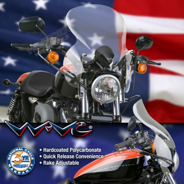 Pare-brise Wave - Sportster/Dyna