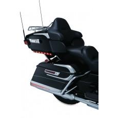 Chromes couvercles de top-case - Electra Glide/Road Glide/Tri Glide