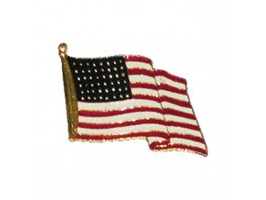 "Pin's ""Drapeau américain"""