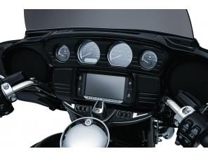 Entourage de motoradio noir - Touring