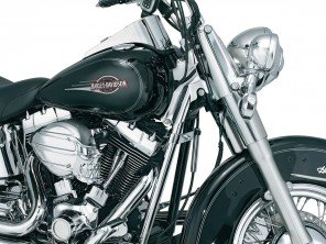 Chrome colonne de direction - Softail
