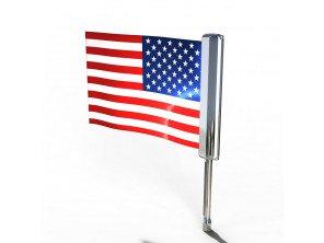 Porte drapeau lumineux