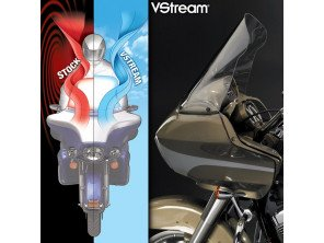 Pare-brise VStream - Road Glide/Ultra